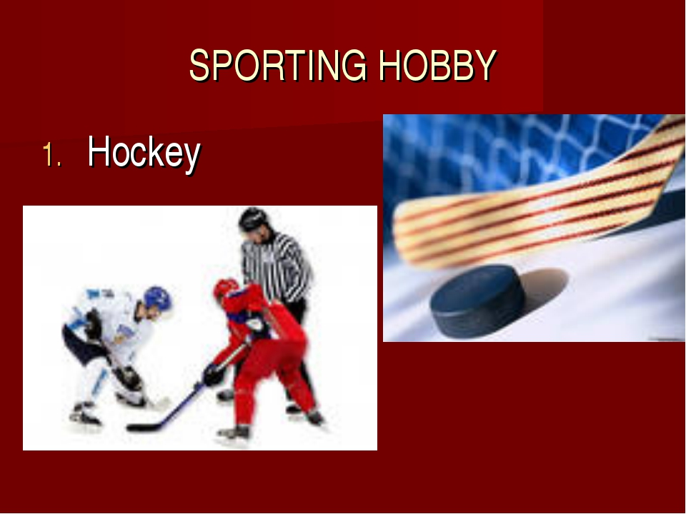 SPORTING HOBBY Hockey