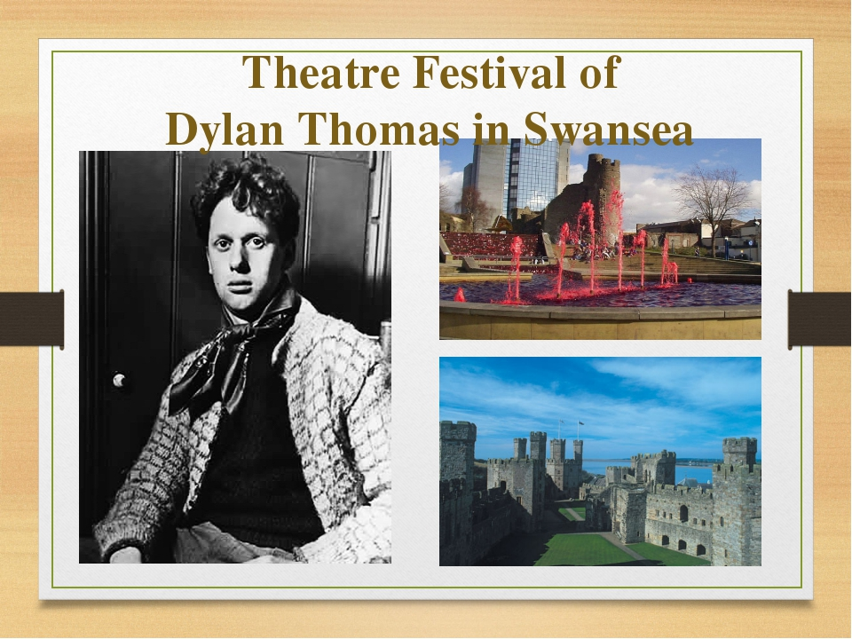 Theatre Festival of Dylan Thomas in Swansea