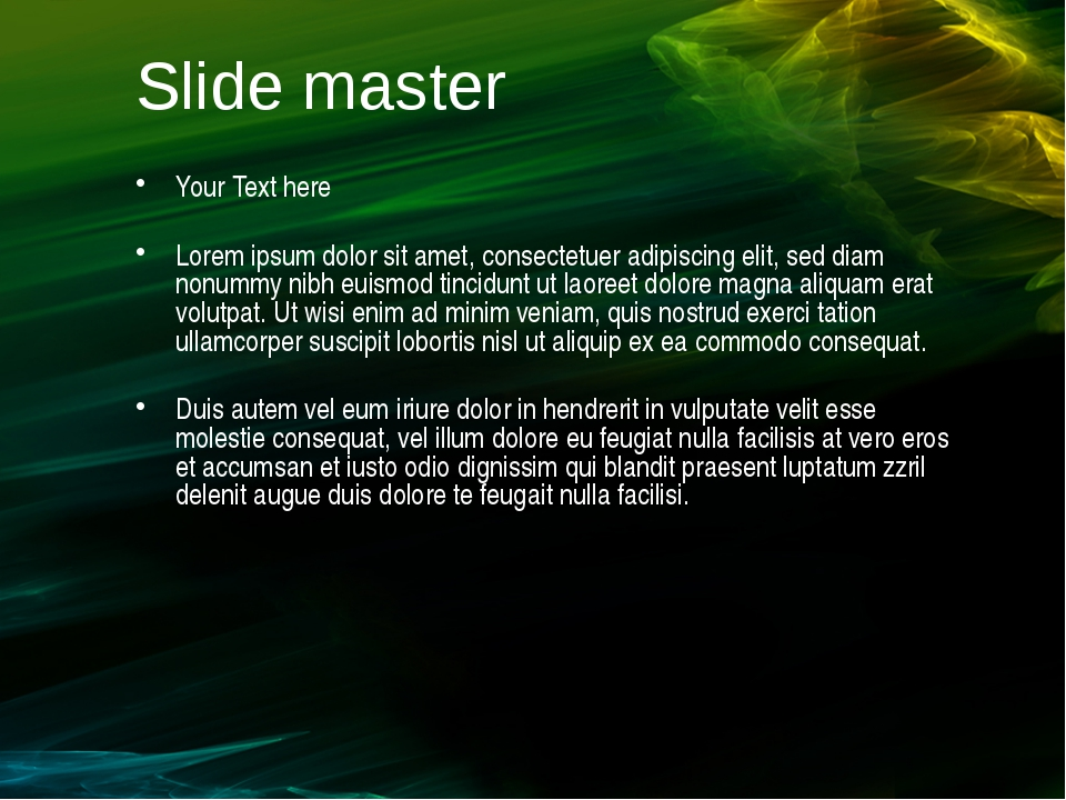 Slide master Your Text here Lorem ipsum dolor sit amet, consectetuer adipisci...