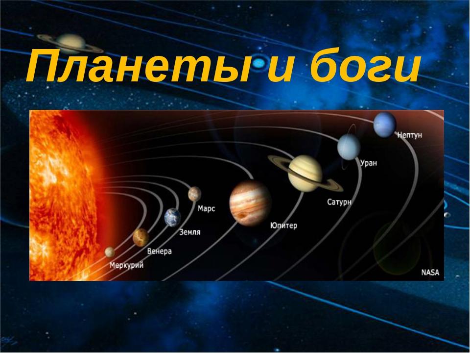 Планеты и боги