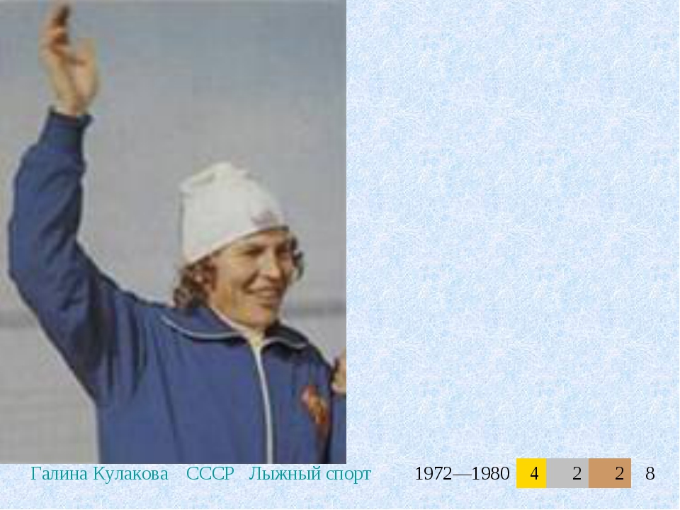 Галина КулаковаСССРЛыжный спорт1972—19804228
