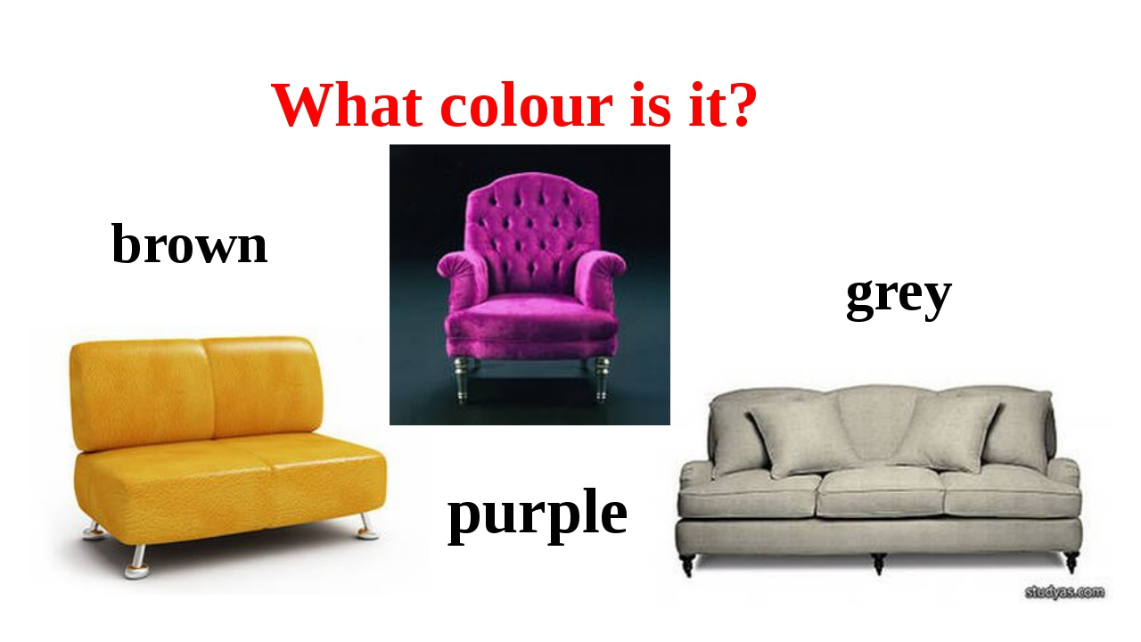 What colour is it? brown purple grey