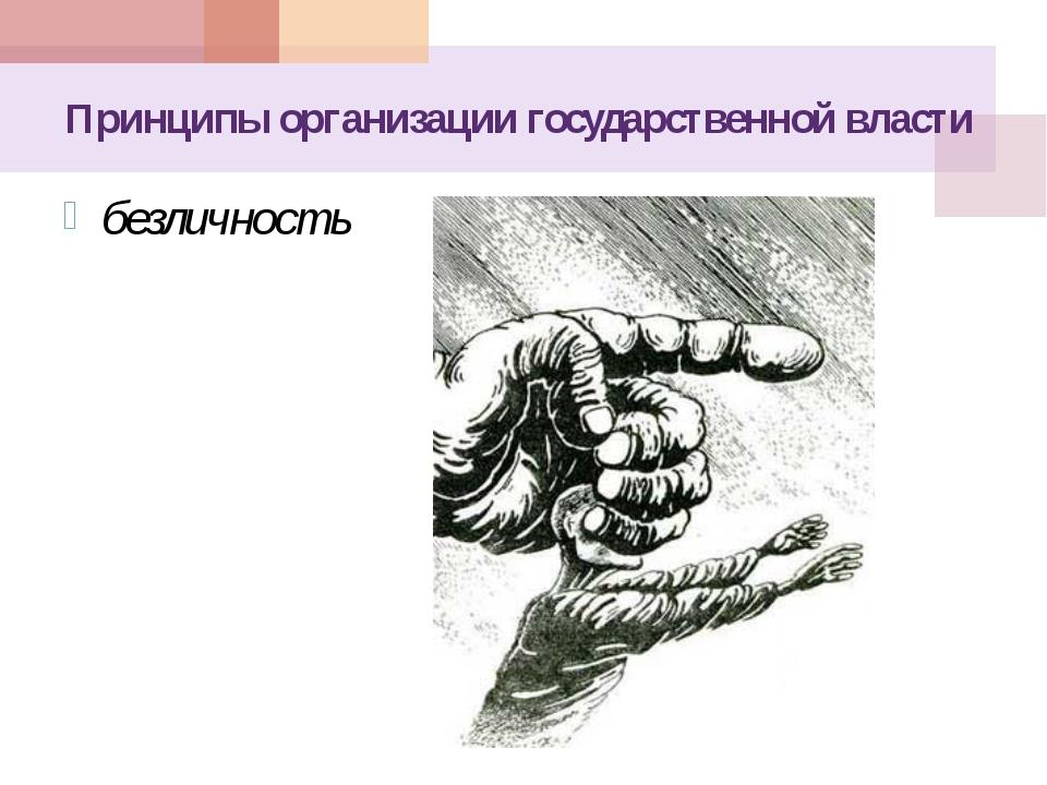 Принципы организации государственной власти ограниченность, предельность влия...