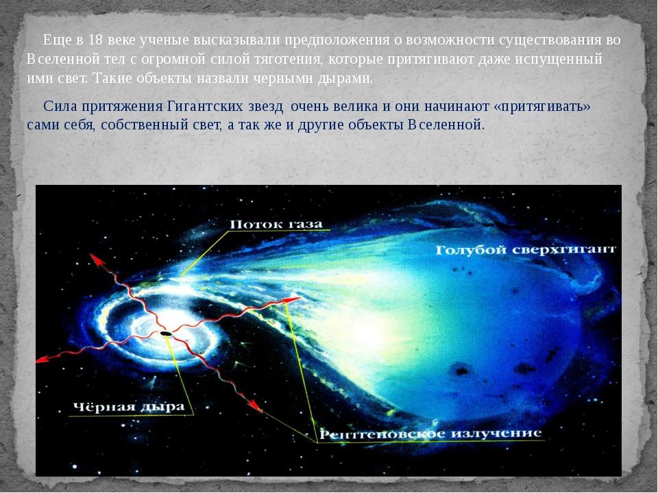 Еще в 18 веке ученые высказывали предположения о возможности существования в...