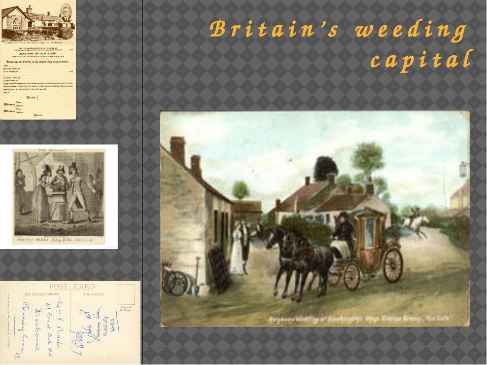 Britain's weeding capital