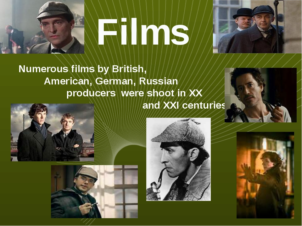 Films Numerous films by British, American, German, Russian producers were sho...