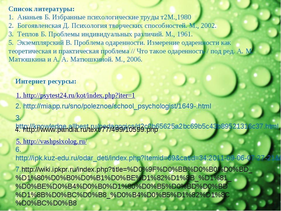 2. http://miapp.ru/sno/poleznoe/school_psychologist/1649-.html 3. http://know...