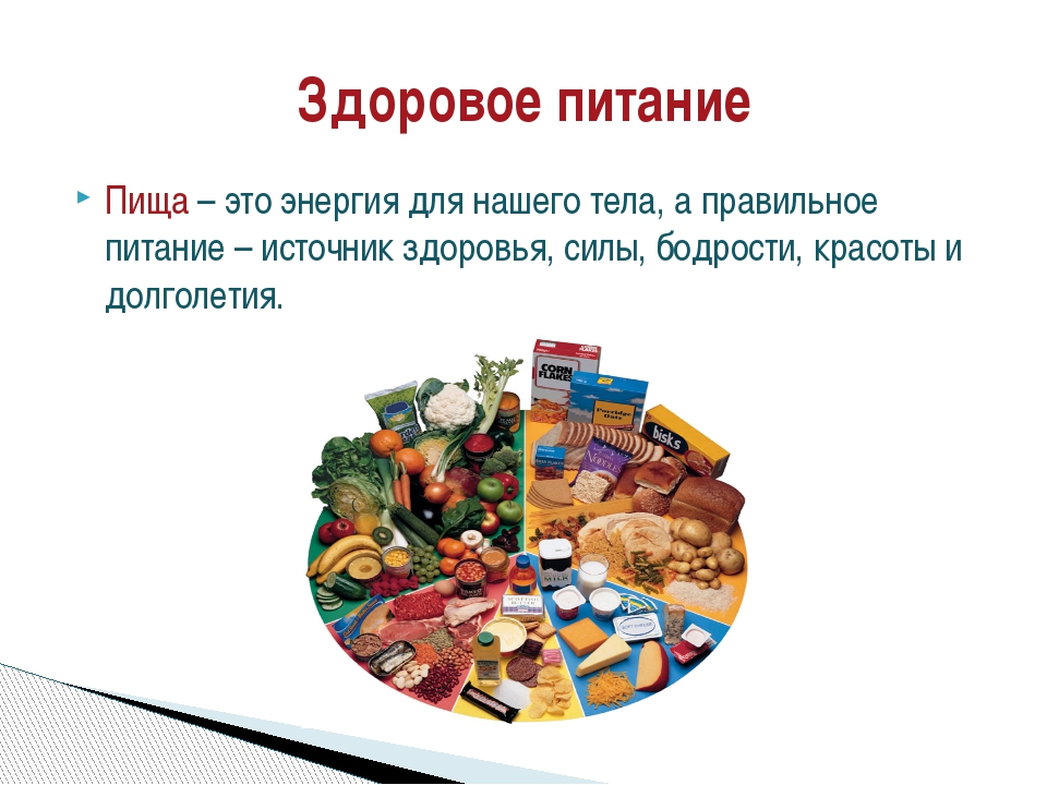 Пища – это энергия для нашего тела, а правильное питание – источник здоровья,...