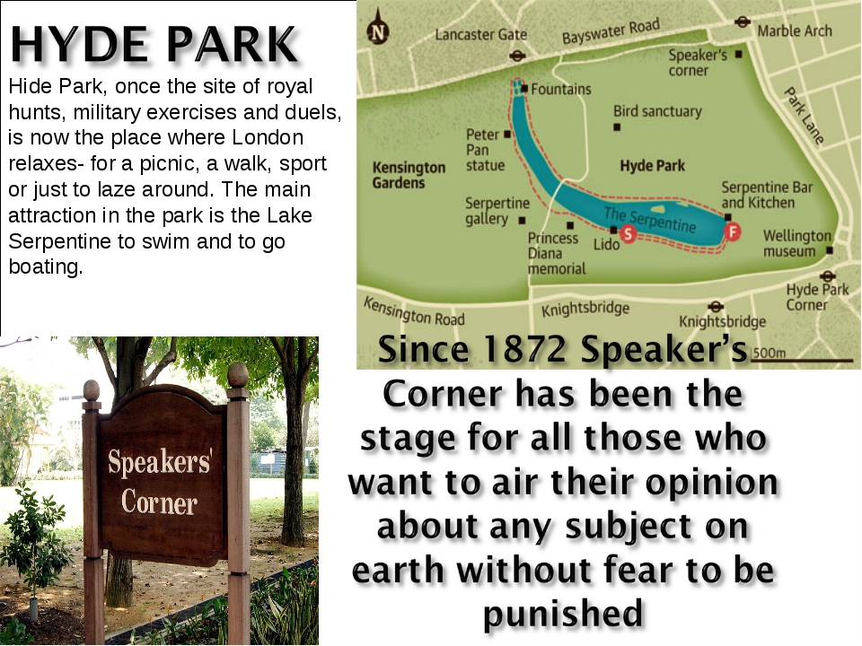 Hide Park, once the site of royal hunts, military exercises and duels, is now...