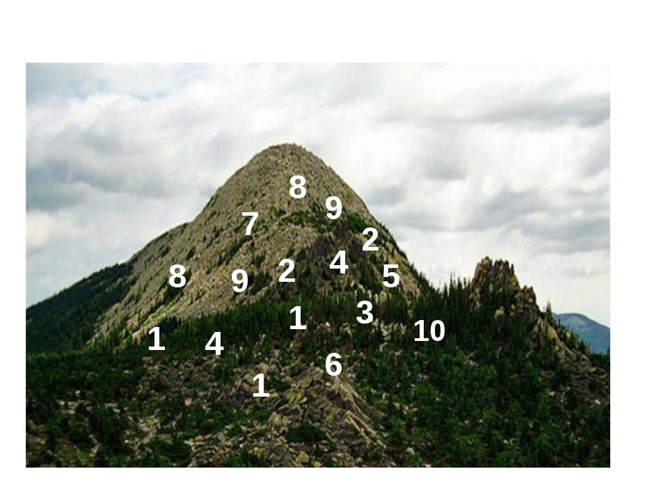 5 2 1 3 2 4 6 7 8 9 9 4 8 10 1 1