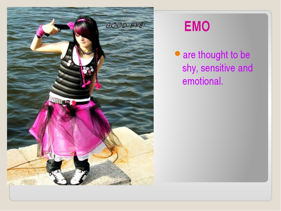 EMO are thought to be shy, sensitive and emotional.