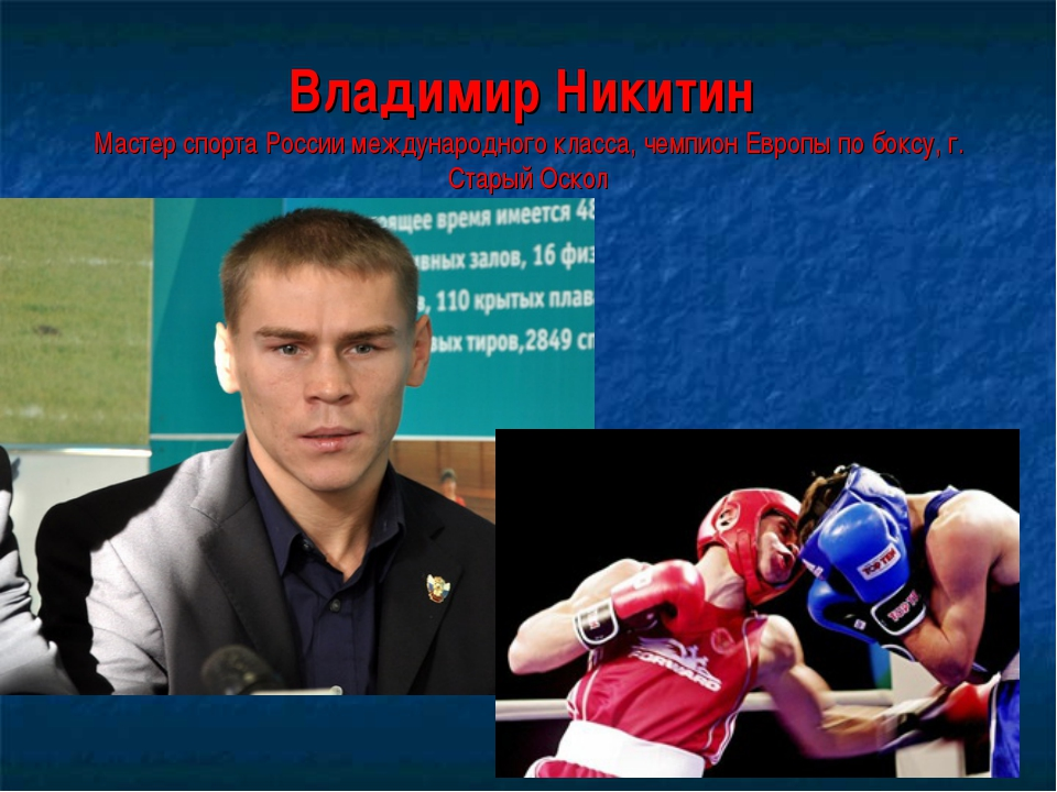 Владимир Никитин Мастер спорта России международного класса, чемпион Европы п...