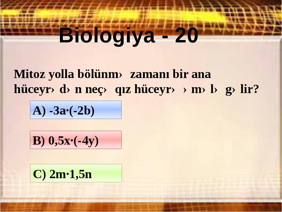 Əyləncəli riyaziyyat - 30 Bütün rəqəmlərin cəmi böyükdür, yoxsa hasili? Cəmi...