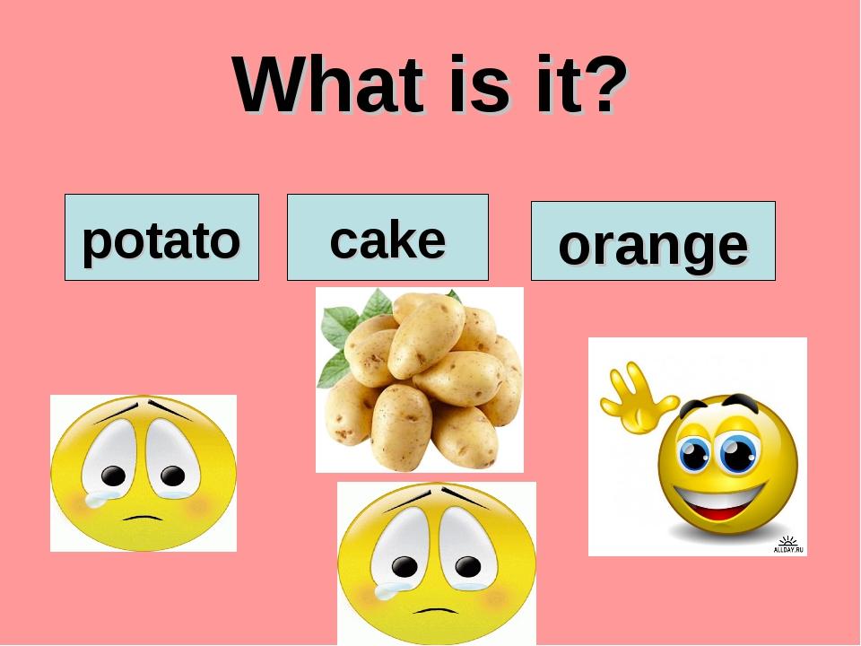 What is it? potato cake orange