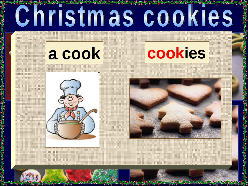 a cook cookies