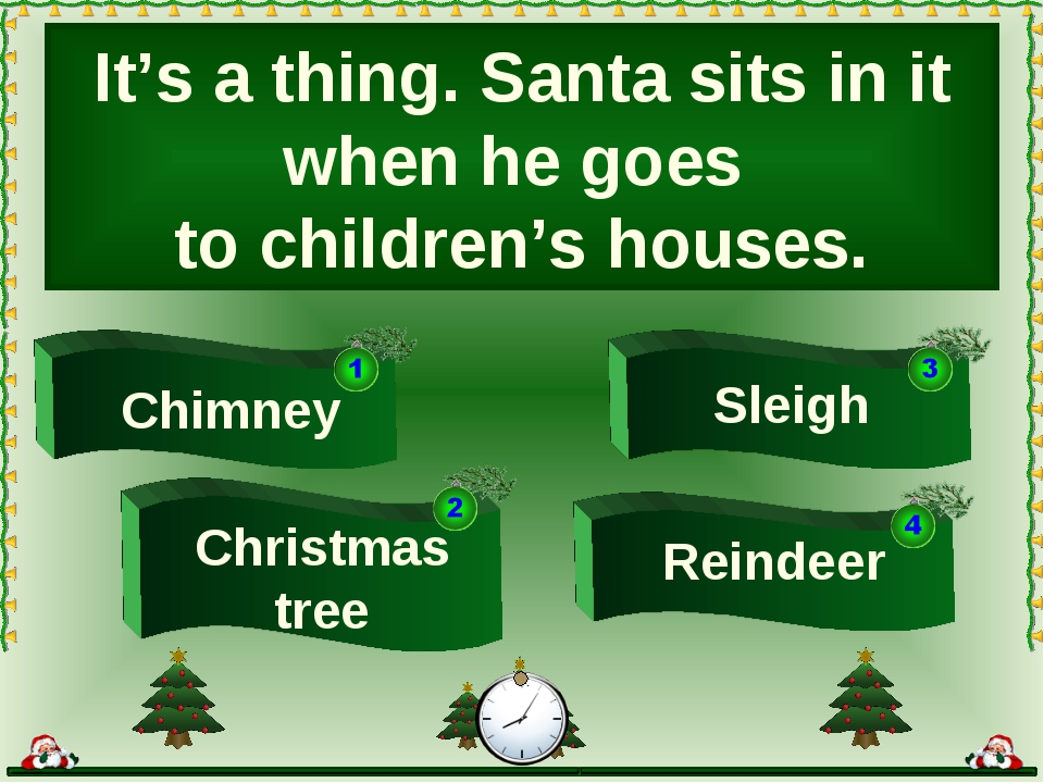 It's a thing. Santa sits in it when he goes to children's houses. Chimney Sle...