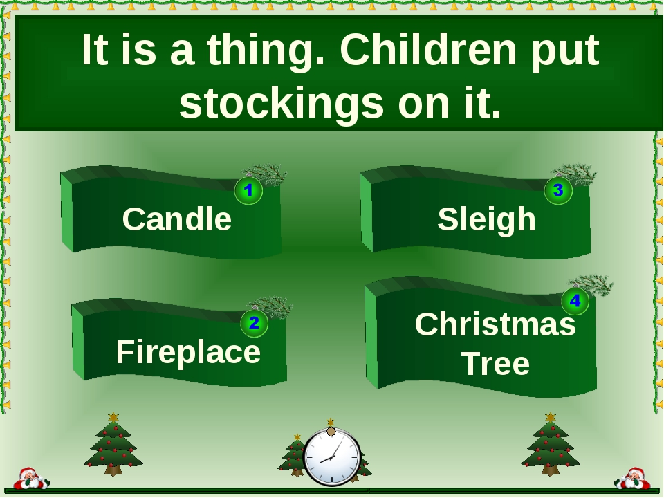 Sleigh Candle Christmas Tree It is a thing. Children put stockings on it. Fir...