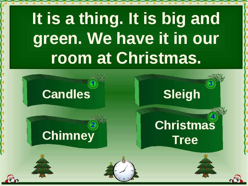 Sleigh Candles Chimney Christmas Tree It is a thing. It is big and green. We...
