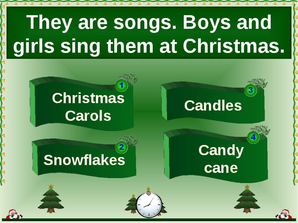 Candles They are songs. Boys and girls sing them at Christmas. Candy cane Chr...