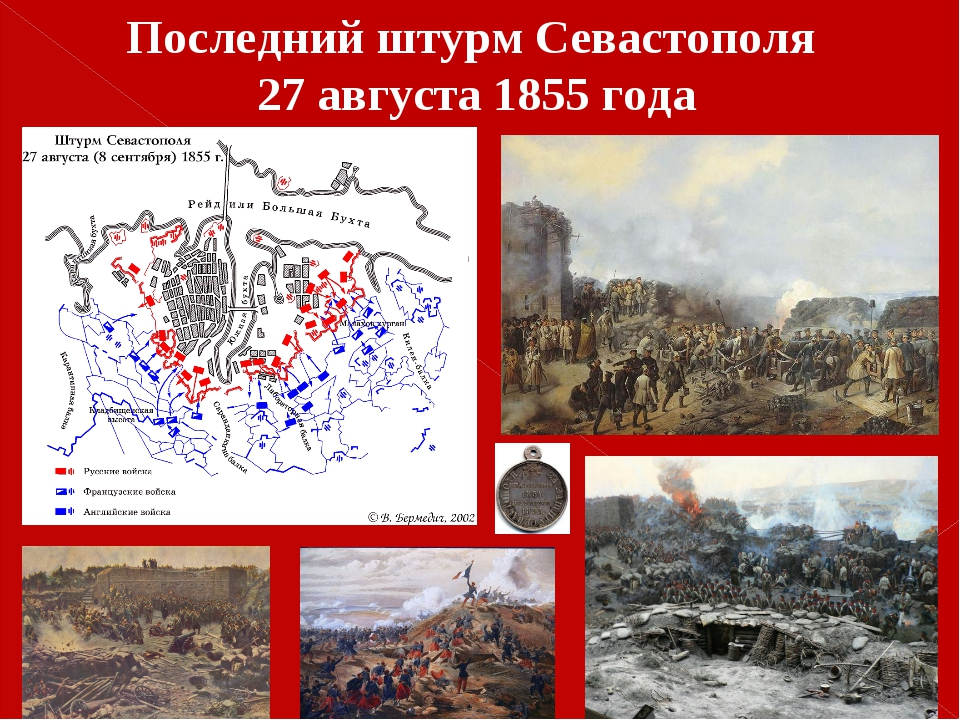 Последний штурм Севастополя 27 августа 1855 года