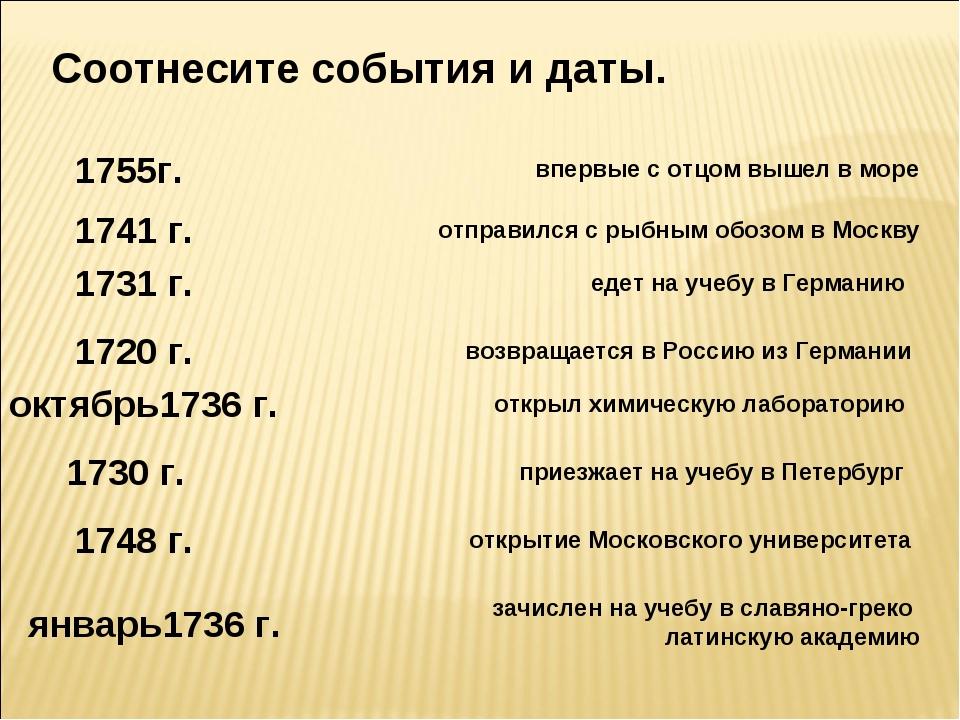 1755г. 1741 г. 1731 г. 1720 г. октябрь1736 г. 1730 г. 1748 г. январь1736 г. в...