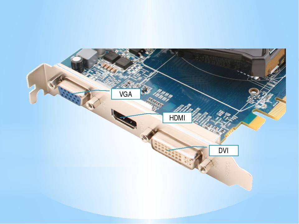 DVI HDMI VGA