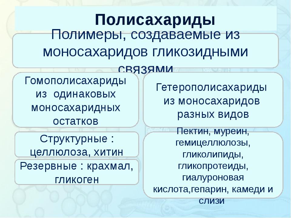Полисахариды Зорина Наталья Николаевна, учитель биологии и экологии Полимеры,...