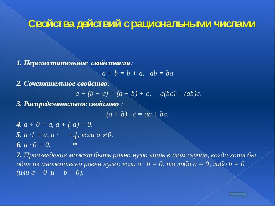 Ответы I вариант -6 ; -9 ; -23 ; 7 ; -50 ; . II вариант -2 ; -20,5 ; -4 ; 11...