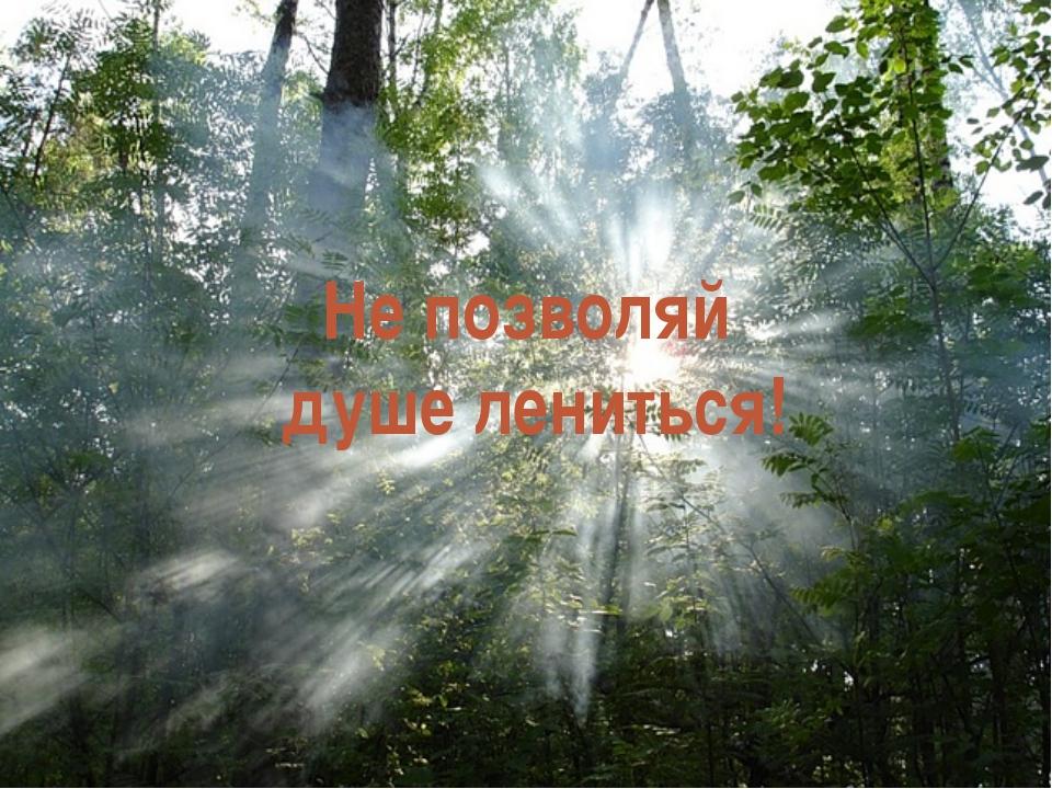 У человека есть тело и душа. Душа – образ Бога в человеке. Тело – храм для ду...