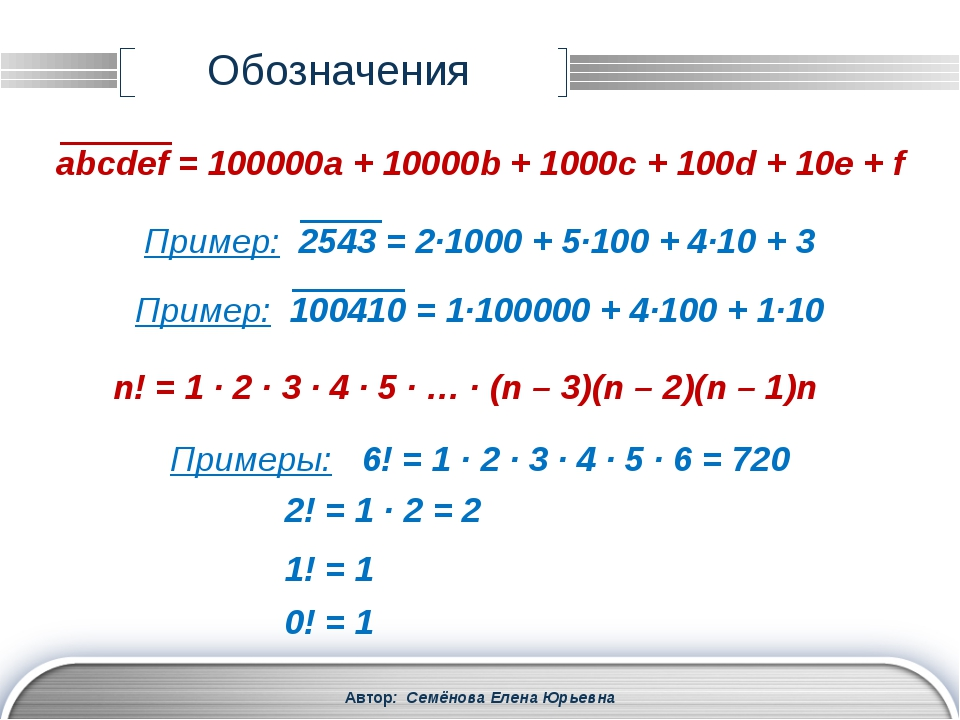 Автор: Семёнова Елена Юрьевна Деление с остатком a = bq + r a – делимое b – д...