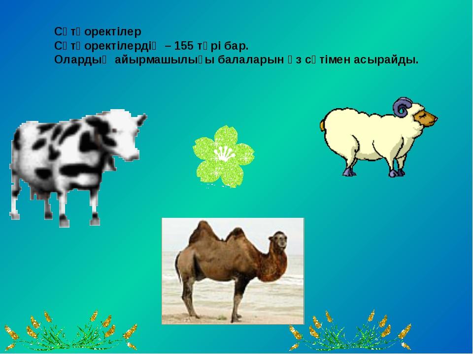 Құстар-481 түрі бар.Айырмашылығы ұшады.