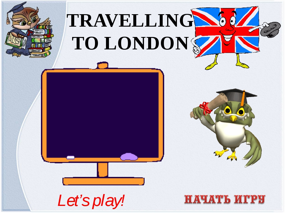 TRAVELLING TO LONDON Let's play!