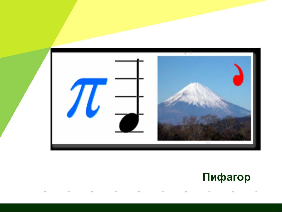 Пифагор Журнал «Математика» №15/2011