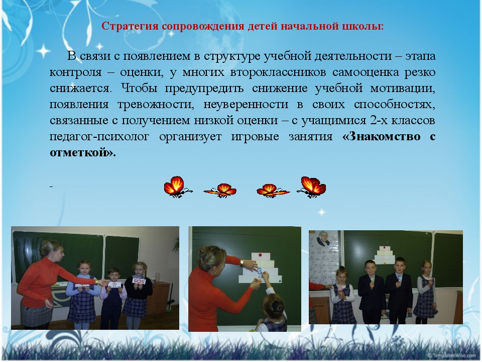 Стратегия сопровождения детей начальной школы: В связи с появлением в структу...