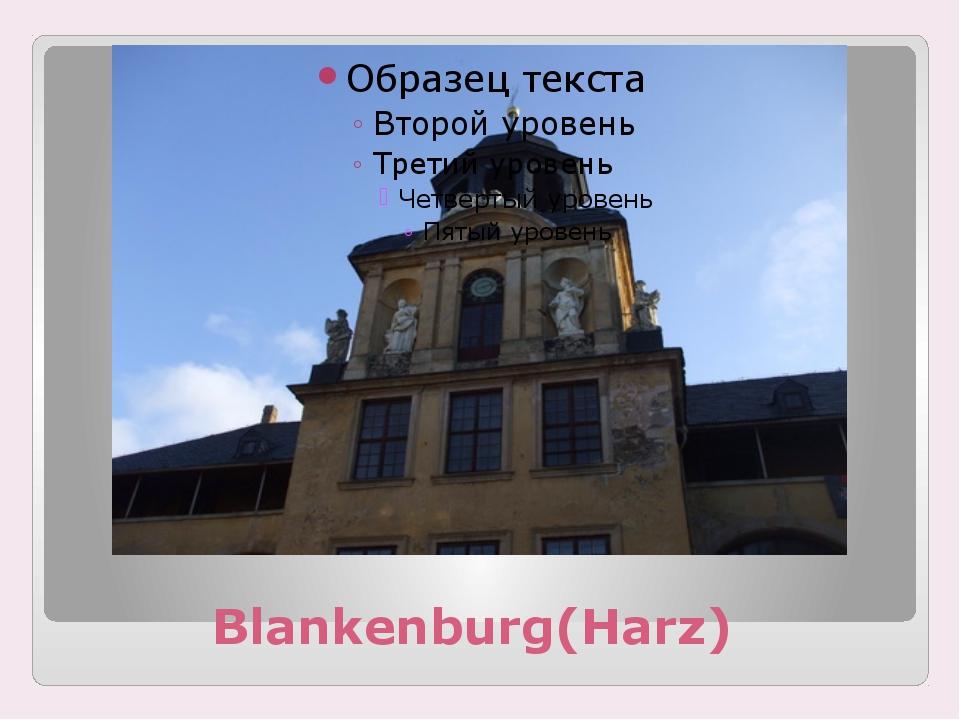 Blankenburg(Harz)