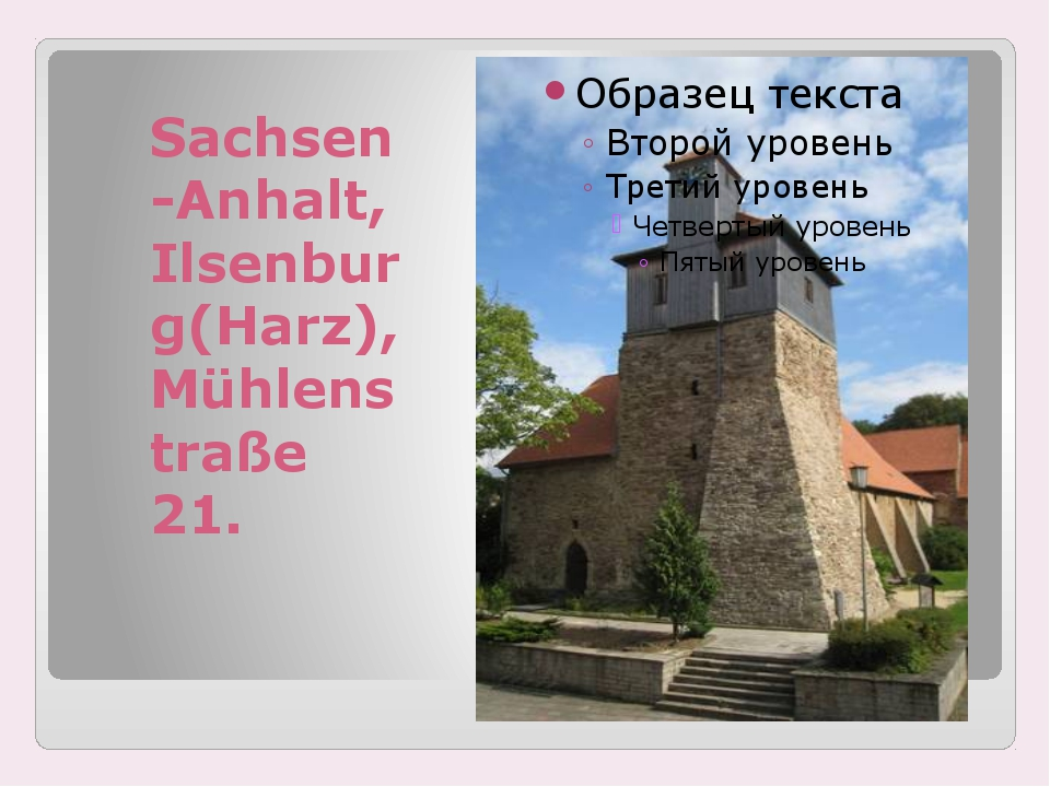 Sachsen-Anhalt, Ilsenburg(Harz), Mühlenstraße 21.