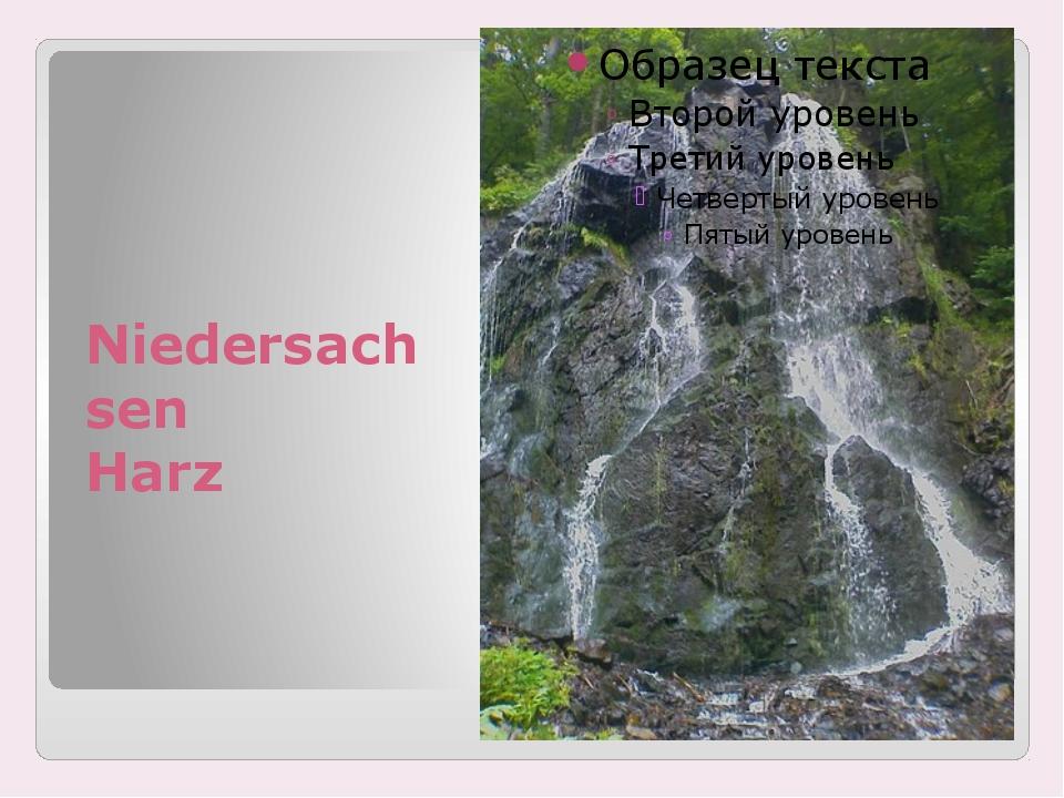 Niedersachsen Harz