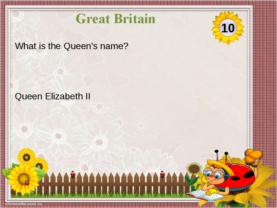 William Shakespeare Which famous writer was born in Stratford-upon-Avon? 30 G...