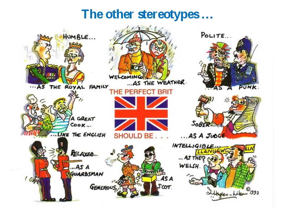The other stereotypes …