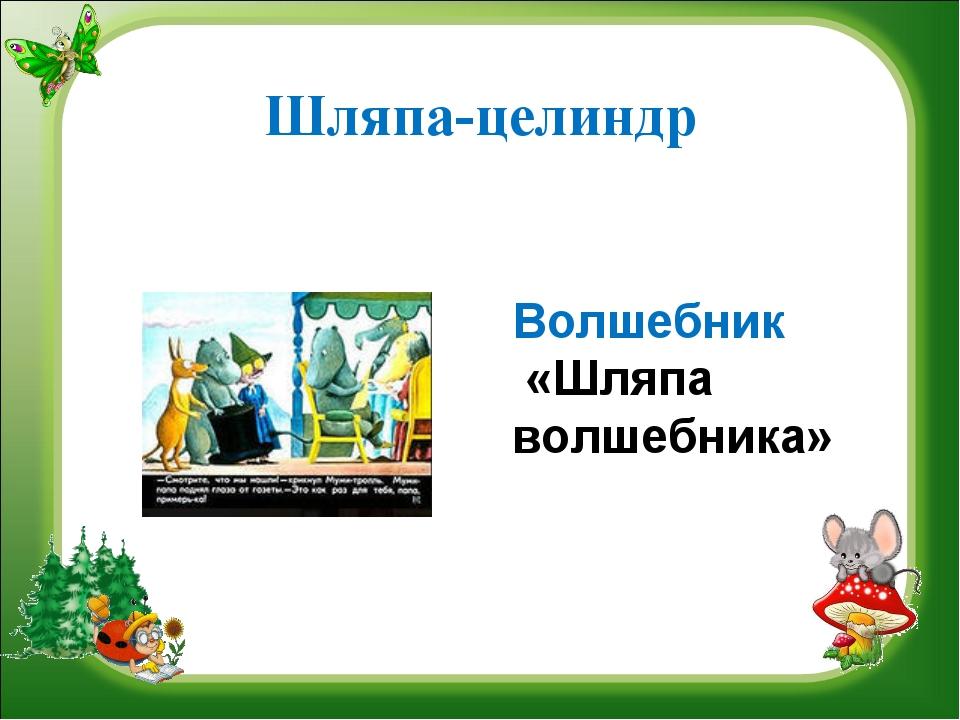 Шляпа-целиндр Волшебник «Шляпа волшебника»