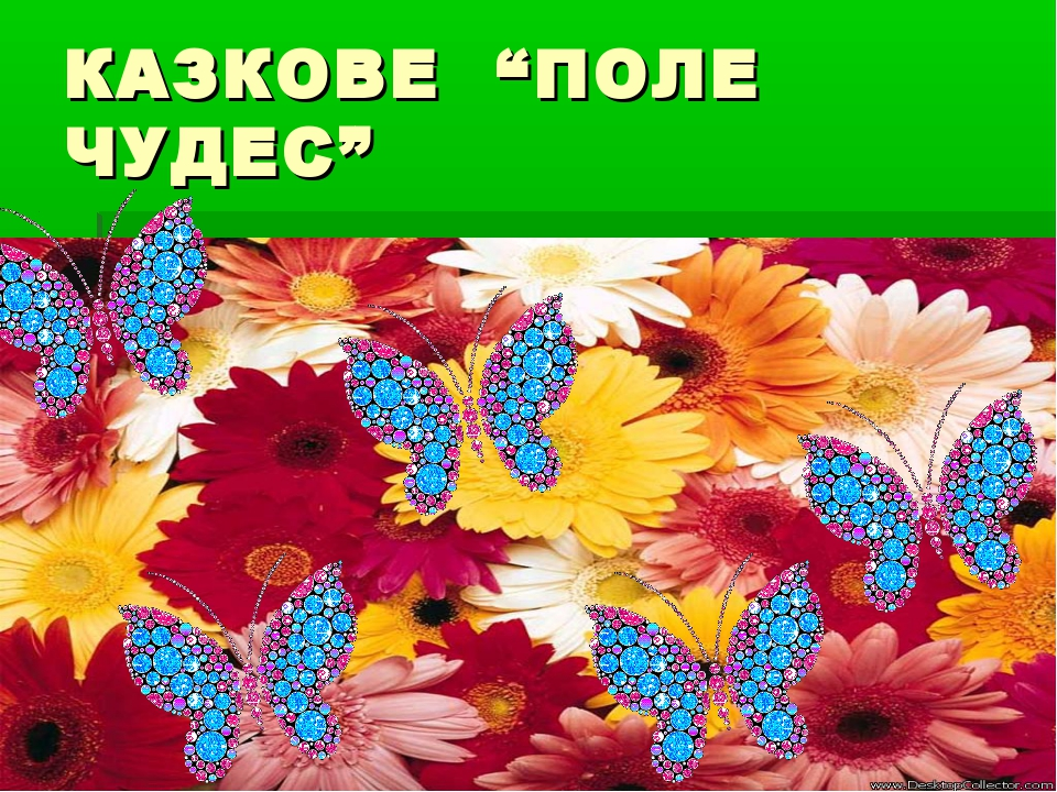 """КАЗКОВЕ """"ПОЛЕ ЧУДЕС"""""""