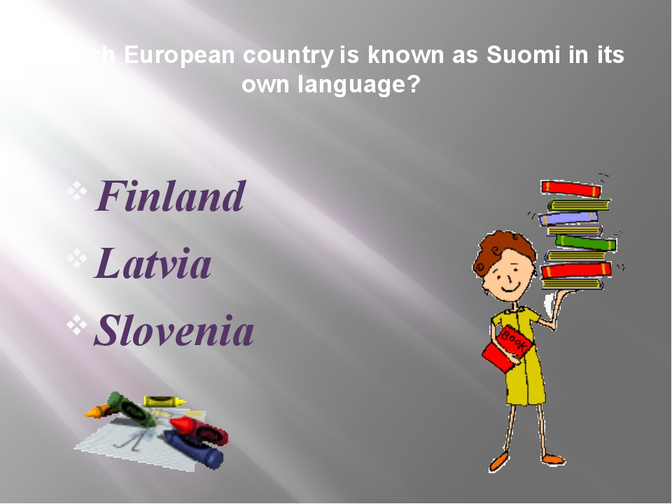 Which European country is known as Suomi in its own language? Finland Latvia...