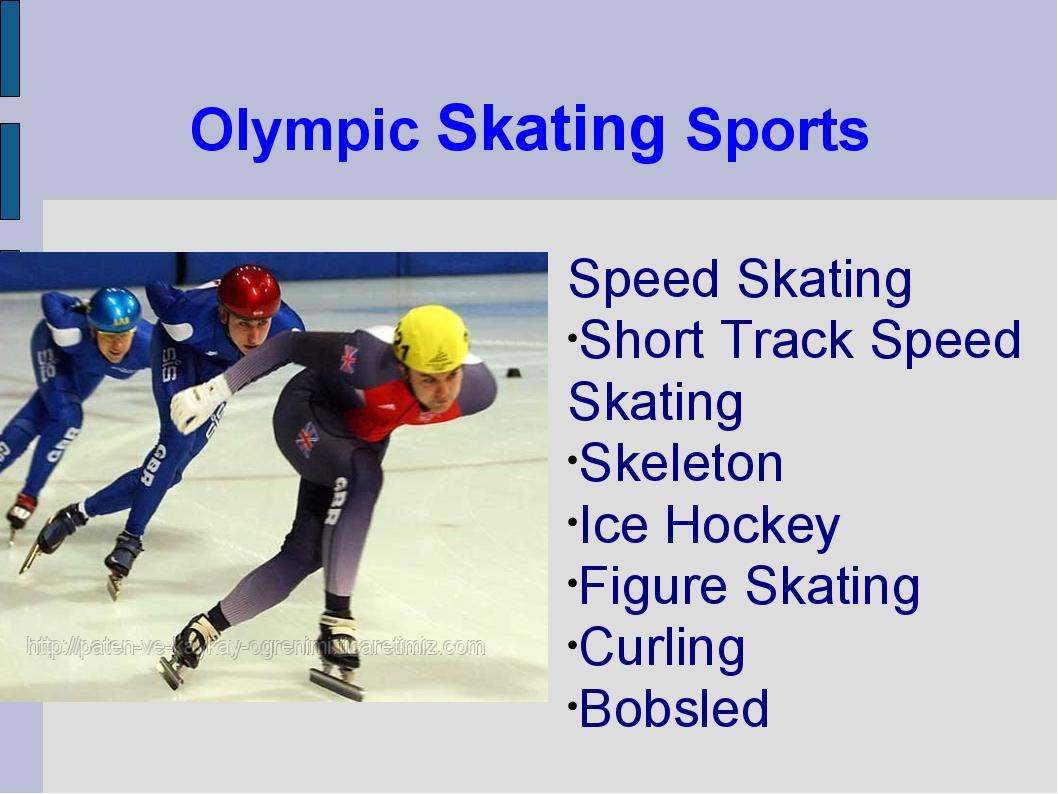 Olympic Skating Sports Speed Skating Short Track Speed Skating Skeleton Ice H...