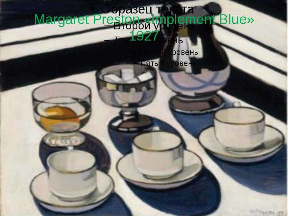 Margaret Preston «Implement Blue» 1927