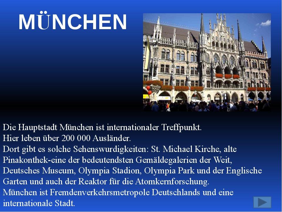 Jetzt ist München das Zentrum von Fahrund Flugzeugbau, Elektronik, Dienstleis...