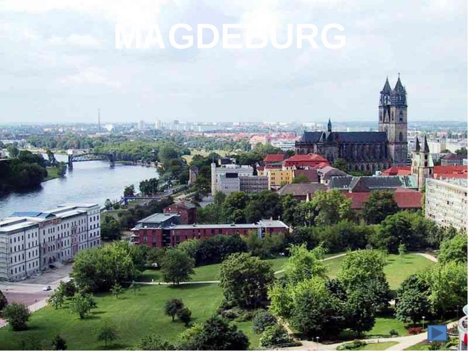 Die Otto-von-Guericke Universität in Magdeburg ist die jungste hochschule Deu...