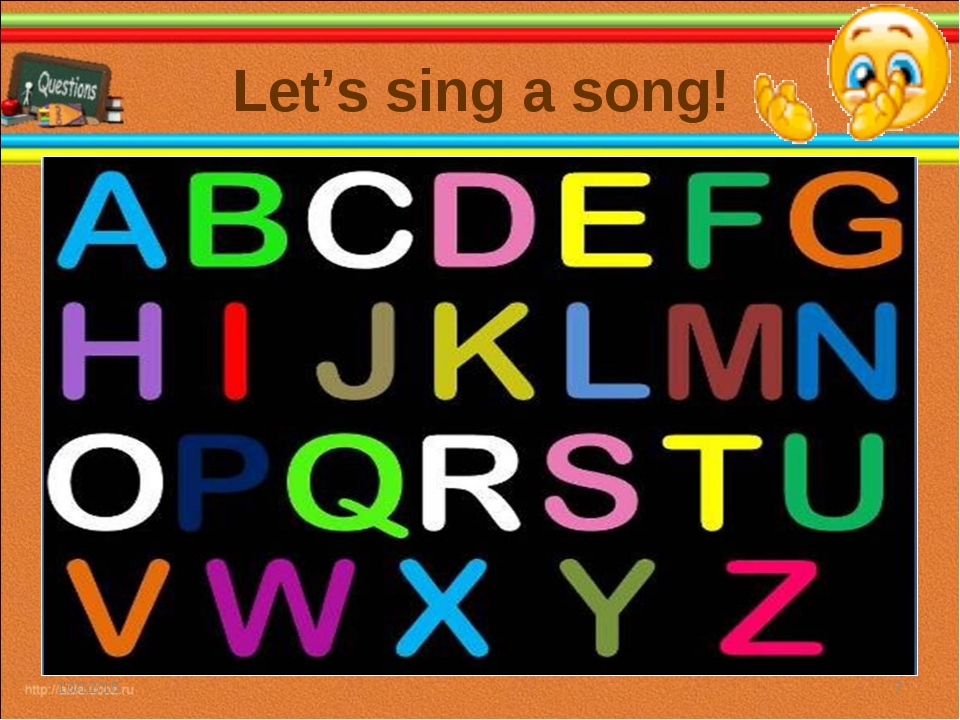 Let's sing a song! * *