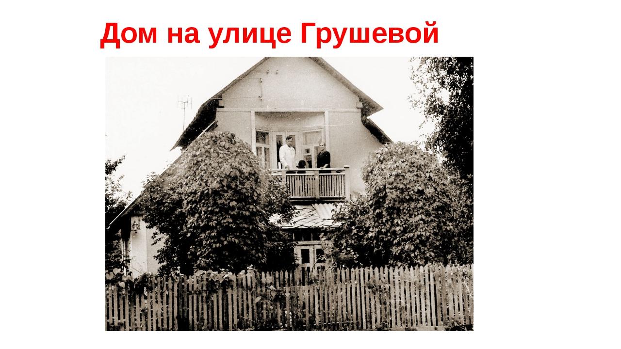 Дом на улице Грушевой
