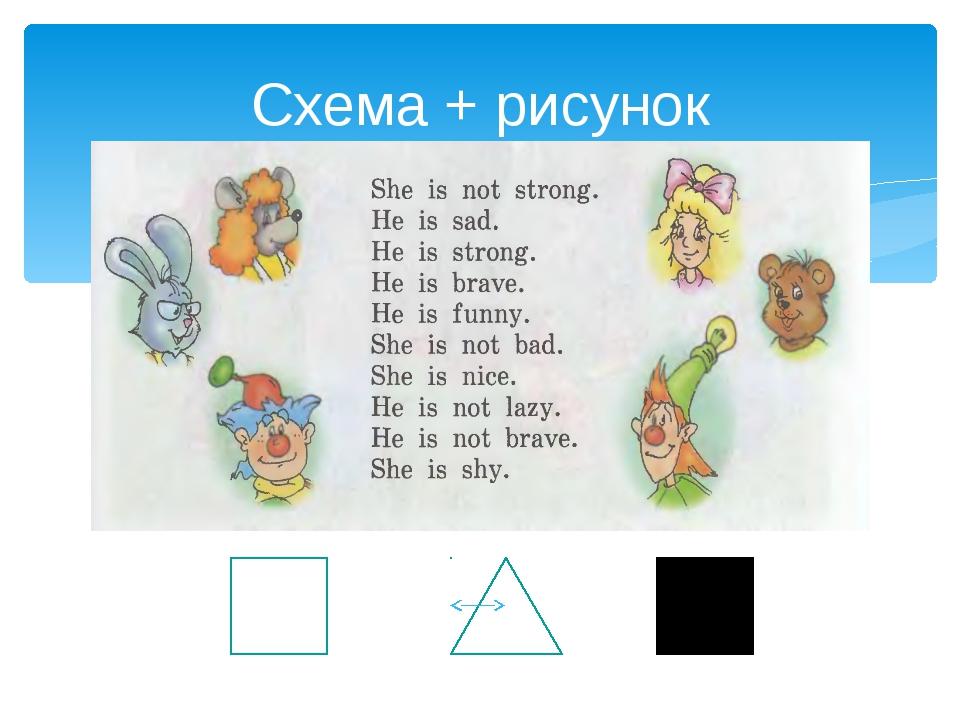 Схема + рисунок