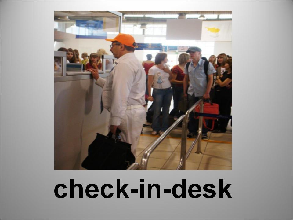 check-in-desk
